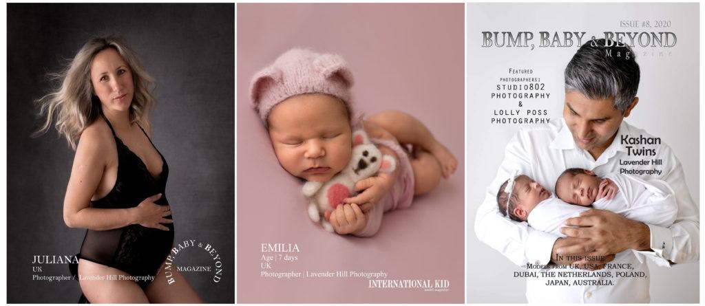 London Maternity Newborn Photographer publications